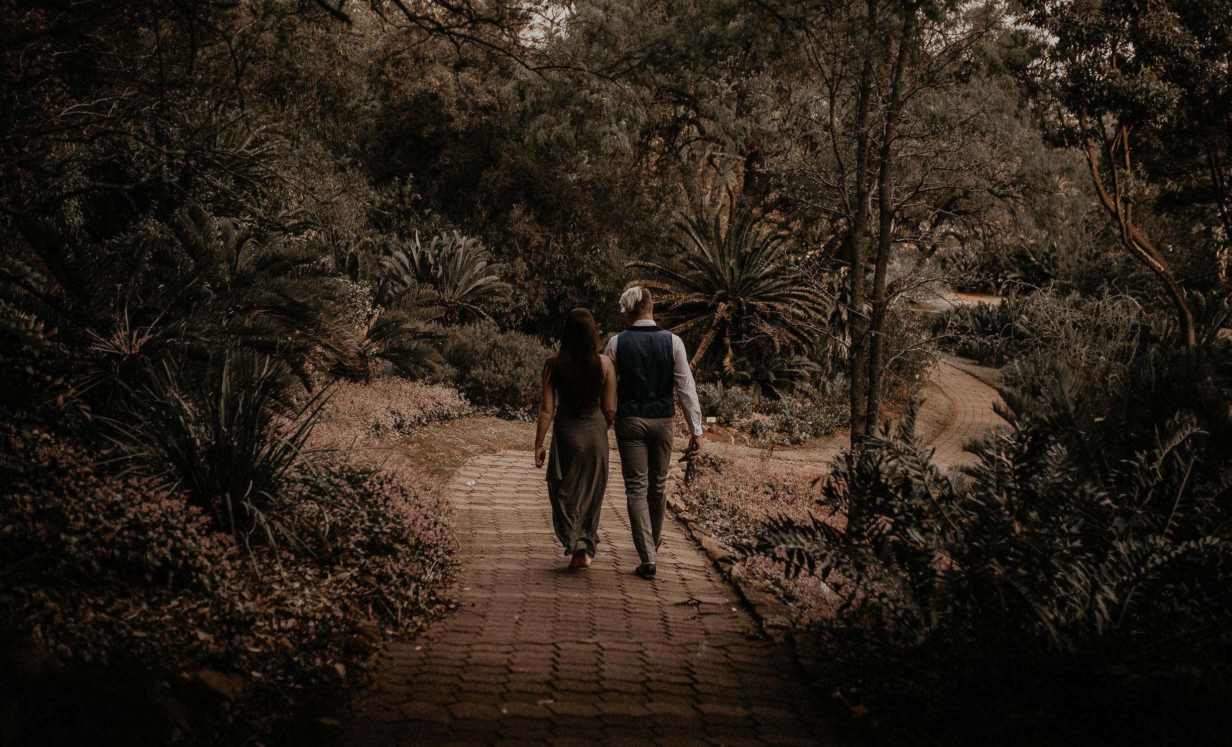 Pretoria Botanical Gardens Couple Photography by Major and Me